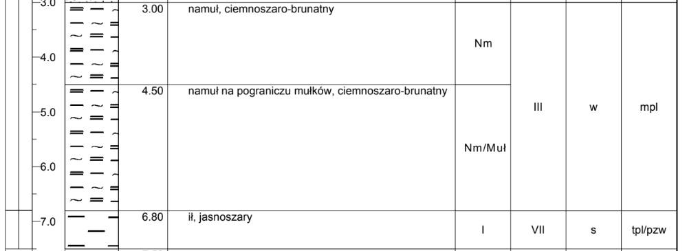 Badanie geotechniczne w Lusławicach obok Zakliczyna – osiadający budynek.